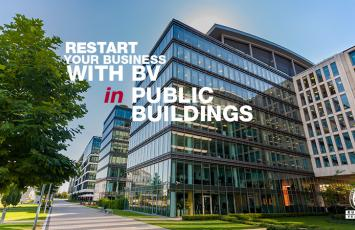 Restart your Business with BV in Public Buildings