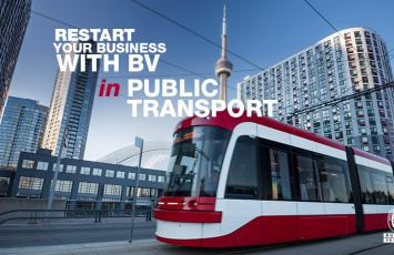 Restart your Business with BV in Public Transports