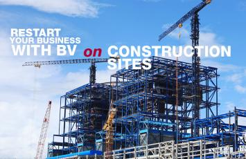 Restart your Business with BV on Construction Site